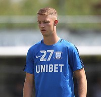 Preston North End's Connor Simpson<br /> <br /> Photographer Mick Walker/CameraSport<br /> <br /> Pre-Season Friendly -Bamber Bridge v Preston North End  - Saturday 7th July  2018 - Irongate Stadium,Bamber Bridge<br /> <br /> World Copyright &copy; 2018 CameraSport. All rights reserved. 43 Linden Ave. Countesthorpe. Leicester. England. LE8 5PG - Tel: +44 (0) 116 277 4147 - admin@camerasport.com - www.camerasport.com