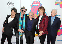 NEW YORK, NY - NOVEMBER 15: (L-R) Ronnie Wood, Keith Richards, Mick Jagger and Charlie Watts of The Rolling Stones attend The Rolling Stones Exhibitionism opening night at Industria Superstudio on November 15, 2016 in New York City. Photo by John Palmer MediaPunch