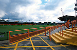 Underhill. Barnet football ground 1994. (Exact date tbc). Photo by Tony Davis. Low resolution file only