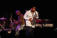 Saxophonist Dante Lewis and Bassist