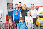 SERVICE AREA: Getting close up to all the action at the Circuit of Kerry Rally last Sunday at the Carlton hotel service area were (front) l-r: Marian McCarthy, Breda Quirke and Sean Horan (back) l-r: Mike Nelligan, Vincent Horan, Colin Nelligan,Trish and Paul Horan all Tralee.