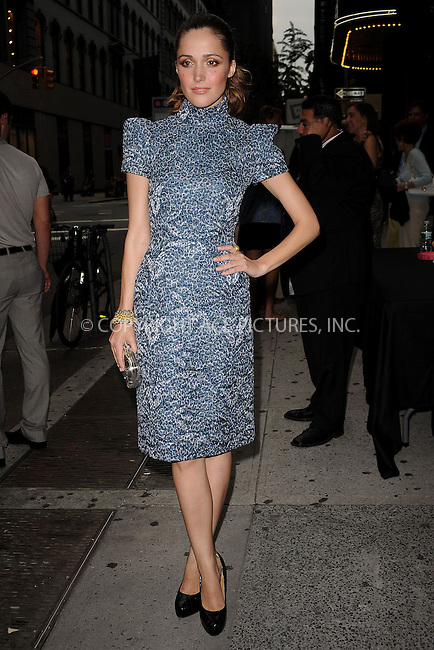 """WWW.ACEPIXS.COM . . . . . ....July 27 2009, New York City....Actress Rose Byrne arriving at The Cinema Society & Brooks Brothers screening of """"Adam"""" at AMC Loews 19th Street on July 28, 2009 in New York City.....Please byline: KRISTIN CALLAHAN - ACEPIXS.COM.. . . . . . ..Ace Pictures, Inc:  ..tel: (212) 243 8787 or (646) 769 0430..e-mail: info@acepixs.com..web: http://www.acepixs.com"""