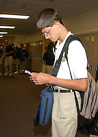 First Day of School - August 14, 2008