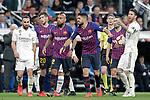 FC Barcelona's Luis Suarez complains during La Liga match. March 02,2019. (ALTERPHOTOS/Alconada)