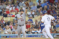 05/20/12 Los Angeles, CA: St. Louis Cardinals first baseman Matt Adams #53 during an MLB game between the St Louis Cardinals and the Los Angeles Dodgers played at Dodger Stadium. The Dodgers defeated the Cardinals 6-5.