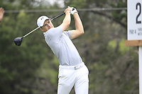 Jordan Spieth (USA) on the 2nd during the 1st round at the WGC Dell Technologies Matchplay championship, Austin Country Club, Austin, Texas, USA. 22/03/2017.<br /> Picture: Golffile | Fran Caffrey<br /> <br /> <br /> All photo usage must carry mandatory copyright credit (&copy; Golffile | Fran Caffrey)