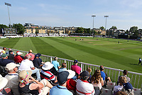 A bumper crowd looks on during Essex Eagles vs Kent Spitfires, Royal London One-Day Cup Cricket at The Cloudfm County Ground on 6th June 2018
