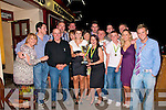 9999,: Victory celebrations fo the Ballybunion Tag Rugby Team Champions 2009 at McMunn's on Saturday night. InCuded are Cara McMunn, Danny Hannan,Tony McMunn, Jenny Pye, Eva O'Rourke, Colm Naughton. Shane Hartigan, Geoff Moylan, Tommy Corrridon, Caroline Moylan, Orlaith Carroll. David Hannan, Cein Naughton, Bryan McAuliff & Alex O'Donovan