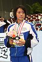 Miho Takahashi (JPN), .APRIL 2, 2012 - Swimming : .JAPAN SWIM 2012 .Women's 400m Individual Medley Victory Ceremony .at Tatsumi International Swimming Pool, Tokyo, Japan. .(Photo by YUTAKA/AFLO SPORT) [1040]