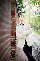 Philadelphia, PA, May 8, 2016 - A portrait of Jeff Guaracino, President & CEO of Welcome America, in Old City Philadelphia.