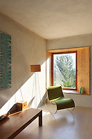 Vicky Thornton designed the house in a way that ensures every room has views over the surrounding countryside