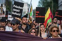 Demonstration in Berlin gegen den Militaerputsch in der Tuerkei und die Politik der Erdogan-Regierung.<br /> Mehrere hundert Tuerken und Kurden demonstrierten am Freitag den 22. Juli 2016 in Berlin gegen den Militaerputsch und die Saeuberungspolitik durch die Erdogan-Regierung. Seit dem Scheitern des Putsches sind mehrere tausend Menschen inhaftiert, und mehrere 10.000 Staatsangestellte entlassenworden.<br /> An der Demonstration beteiligten sich auch Mitglieder des Berliner Abgeordnetenhaus und Mitglieder der Kurden-Partei HDP.<br /> 22.7.2016, Berlin<br /> Copyright: Christian-Ditsch.de<br /> [Inhaltsveraendernde Manipulation des Fotos nur nach ausdruecklicher Genehmigung des Fotografen. Vereinbarungen ueber Abtretung von Persoenlichkeitsrechten/Model Release der abgebildeten Person/Personen liegen nicht vor. NO MODEL RELEASE! Nur fuer Redaktionelle Zwecke. Don't publish without copyright Christian-Ditsch.de, Veroeffentlichung nur mit Fotografennennung, sowie gegen Honorar, MwSt. und Beleg. Konto: I N G - D i B a, IBAN DE58500105175400192269, BIC INGDDEFFXXX, Kontakt: post@christian-ditsch.de<br /> Bei der Bearbeitung der Dateiinformationen darf die Urheberkennzeichnung in den EXIF- und  IPTC-Daten nicht entfernt werden, diese sind in digitalen Medien nach §95c UrhG rechtlich geschuetzt. Der Urhebervermerk wird gemaess §13 UrhG verlangt.]