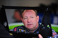 Feb 13, 2008; Daytona Beach, FL, USA; Nascar Sprint Cup Series driver Ken Schrader during practice for the Daytona 500 at Daytona International Speedway. Mandatory Credit: Mark J. Rebilas-US PRESSWIRE