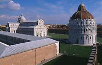 Dom, Camposanto und Baptisterium, Pisa,Toskana, Italien, Unesco-Weltkulturerbe