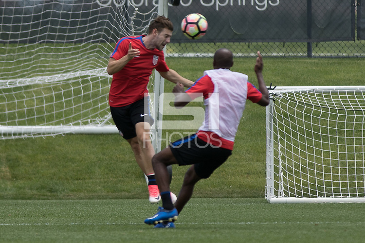 Denver, CO - Monday June 5, 2017: The U.S. Men's National team train in preparation for their upcoming WCQ Hex games at Dick's Sporting Goods Park.