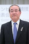 Koichi Miyata, <br /> APRIL 14, 2015 : <br /> Mizuho and Sumitomo Mitsui Financial Group has Press conference <br /> in Tokyo. <br /> Mizuho and Sumitomo Mitsui Financial Group announced that <br /> it has entered into a partnership agreement with <br /> the Tokyo Organising Committee of the Olympic and Paralympic Games. <br /> With this agreement, Mizuho and Sumitomo Mitsui Financial Group becomes the gold partner. <br /> (Photo by YUTAKA/AFLO SPORT) [1040]