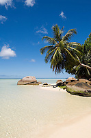Seychelles, Island Mahe, Anse Boileau: beach at west coast<br />