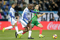 CD Leganes' Allan Romero Nyom (L)  and Deportivo Alaves' Jony Rodriguez  during La Liga match. November 23,2018. (ALTERPHOTOS/Alconada) /NortePhoto.com