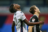 Bolton Wanderers' Sammy Ameobi rues a late near miss<br /> <br /> Photographer Andrew Kearns/CameraSport<br /> <br /> The EFL Sky Bet Championship - Bolton Wanderers v Fulham - Saturday 10th February 2018 - Macron Stadium - Bolton<br /> <br /> World Copyright &copy; 2018 CameraSport. All rights reserved. 43 Linden Ave. Countesthorpe. Leicester. England. LE8 5PG - Tel: +44 (0) 116 277 4147 - admin@camerasport.com - www.camerasport.com