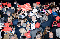 Edward Young celebrates as people gather in the Midtown Hilton at the election night victory rally for Republican presidential nominee Donald Trump, on Tues., Nov. 8, 2016. Trump was named president-elect in the early hours of Nov. 9, 2016.