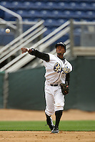 April 11, 2010: Ivan Contreras of the Rancho Cucamonga Quakes during game against the Inland Empire 66'ers at The Epicenter in Rancho Cucamonga,CA.  Photo by Larry Goren/Four Seam Images