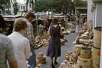 1979  File Photo, Nassau, Bahamas - <br /> market