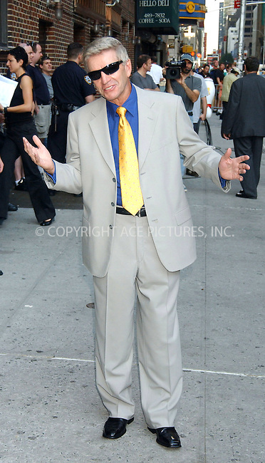 WWW.ACEPIXS.COM . . . . . ....NEW YORK, JULY 24, 2006....Tom Dreesen at the Late Show with David Letterman.....Please byline: KRISTIN CALLAHAN - ACEPIXS.COM.. . . . . . ..Ace Pictures, Inc:  ..(212) 243-8787 or (646) 679 0430..e-mail: picturedesk@acepixs.com..web: http://www.acepixs.com