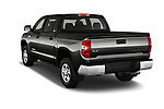 Car pictures of rear three quarter view of 2016 Toyota Tundra SR-Crew 4 Door Pickup Angular Rear