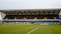 Sheffield United FC bring a decent number of fans during the Sky Bet Championship match between Millwall and Sheff United at The Den, London, England on 2 December 2017. Photo by Carlton Myrie / PRiME Media Images.