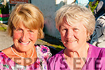 Ballybunion Pattern Day: Attending the revival of the Ballybunion Pattern Day at Ahafona Cross on Monday evening last Mary Hartney, Ballybunion & Ann Deenihan, Liselton.