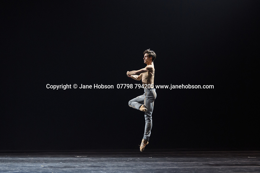 "Svetlana Zakharova, the Bolshoi's Prima and the first and only Russian Etpile at Teatro alla Scala, returns to the London Coliseum, with MODANSE, a new double bill produced by Muzarts. Zakharova is joined on stage by a cast of dancers from the Bolshoi Ballet, including Mikhail Lobukhin, Vaycheslav Lopatin, Denis Savin, Jacopo Tissi and Ana Turazashvili. The piece shown is: 'Come un Respiro"" (Like a Breath), choreographed by Mauro Bigonzetti, in its UK premiere. The dancers are: Svetlana Zakharova, Denis Savin, Jacopo Tissi, Mikhail Lobukhin, Vyacheslav Lopatin, Ana Turazashvili, Anastasia Stashkevich, Victoria Litvinova, Marfa Fyodorova, Tatiana Osipova, Anita Pudikova, Anna Zakaraya, Karim Abdullin, Alexei Gaynutdinov, Anton Gaynutdinov. Picture shows: Jacopo Tissi."