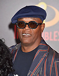 HOLLYWOOD, CA - JUNE 05: Samuel L. Jackson attends the premiere of Disney and Pixar's 'Incredibles 2' at the El Capitan Theatre on June 5, 2018 in Los Angeles, California.