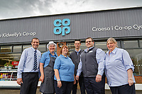 L-R Store manager Anthony Thorne, Anne Gilley, Nicola Davies, Aaron Parker, Dan Pritchard and Dawn Higginson-Thomas