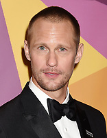 BEVERLY HILLS, CA - JANUARY 07: Actor Alexander Skarsgård arrives at HBO's Official Golden Globe Awards After Party at Circa 55 Restaurant in the Beverly Hilton Hotel on January 7, 2018 in Los Angeles, California.