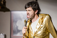 13th July 2019: Comedian Spencer Jones performs on day 1 of the 2019 Comedy Crate Festival in Northampton