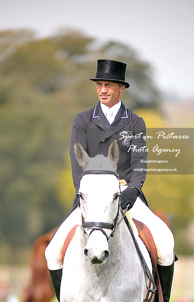 Andrew Nicholson (NZL) riding Avebury DRESSAGE - Mitsubishi Motors Badminton Horse Trials. Badminton. Gloucestershire. 03/05/2013. MANDATORY Credit Peter Reynolds/SIP - NO UNAUTHORISED USE - 07837 394578