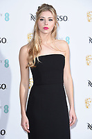 LONDON, UK. February 09, 2019: Hermione Corfield arriving for the 2019 BAFTA Film Awards Nominees Party at Kensington Palace, London.<br /> Picture: Steve Vas/Featureflash