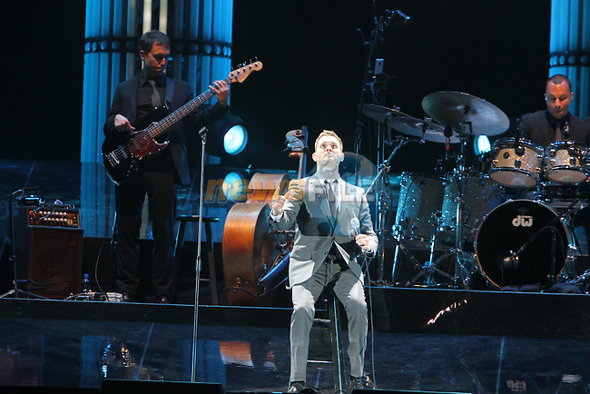 Michael Buble at the Aviva...Picture Jenny Matthews/Newsfile.ie