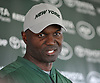 Todd Bowles, New York Jets head coach, speaks with the media after the first team practice of training camp at the Atlantic Health Jets Training Center in Florham Park, NJ on Saturday, July 29, 2017.