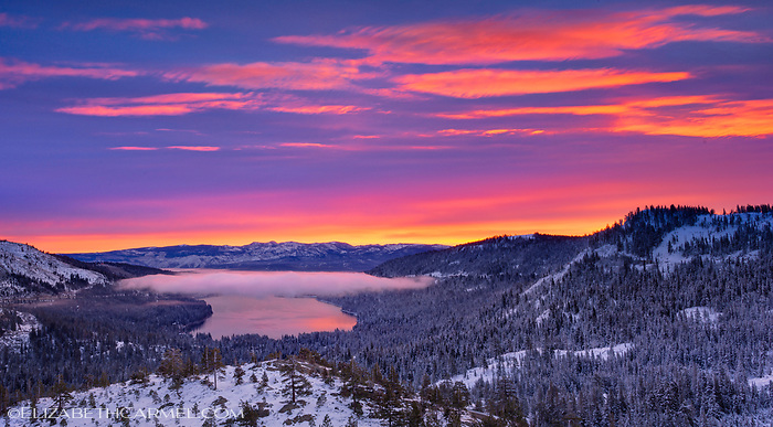 Brilliant Morning Donner Lake