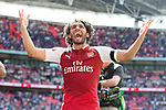 Mohamed Elneny of Arsenal after the The FA Community Shield match at Wembley Stadium, London. Picture date 6th August 2017. Picture credit should read: Charlie Forgham-Bailey/Sportimage