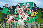 TOP TEAM: The Killarney Celtic's winners of the Castle Bar Cup Final at Mounthawk Park, Tralee on Saturday.