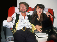 Richard Branson, Tracy Ullman, 1992, Photo By Michael Ferguson/PHOTOlink