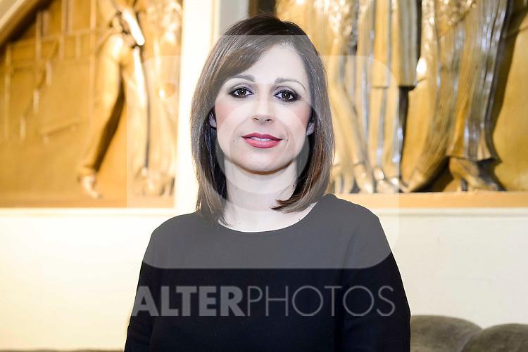 Portuguese Fado Singer Katia Guerrero pose to the media at Teatro Nuevo Apolo in Madrid. January 11, 2017. (ALTERPHOTOS/Borja B.Hojas)