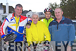 Currow CC cyclists l-r: Pat O'Shea, Fred O'Dwyer, Shane O'Neill and Mike Fleming who competed in the Castleisland fun Cycle race on Sunday ....