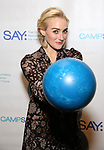 Betsy Wolfe attends the Paul Rudd hosts the Sixth Annual Paul Rudd All Star Bowling Benefit for (SAY) on January 22, 2018 at the Lucky Strike Lanes in New York City.