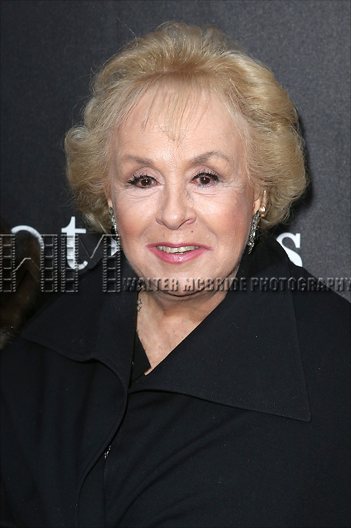 "Doris Roberts attends the Broadway Opening Night Performance of ""Mothers and Sons"" at the Golden Theatre on March 24, 2014 in New York City."