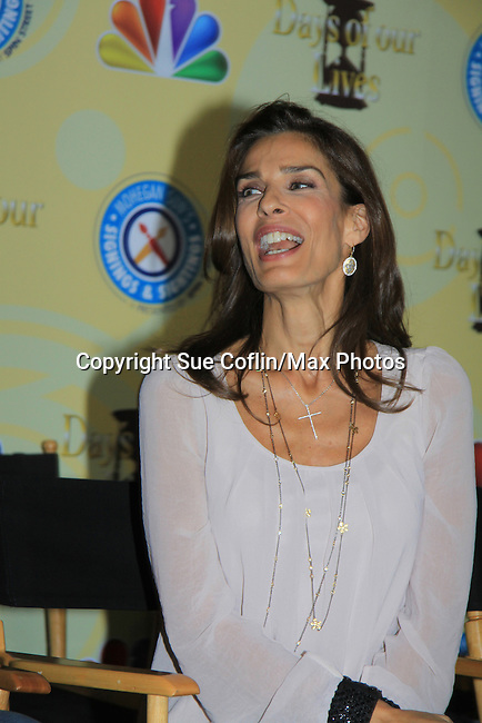 Days Of Our Lives National Tour - Kristian Alfonso on September 15, 2012 at The Shops at Mohegan Sun, Uncasville, Connecticut. (Photo by Sue Coflin/Max Photos)