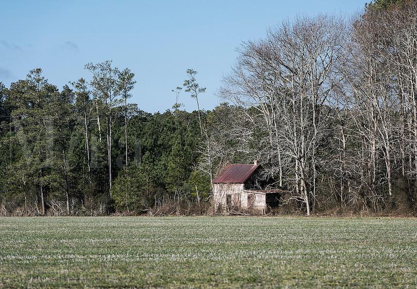 Small abandoned house, Virginia, USA