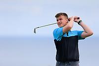 Ben Escott (Bangor) during the final round at Carnalea Golf Club, Bangor, Antrim, Northern Ireland. 07/08/2019.<br /> Picture Fran Caffrey / Golffile.ie<br /> <br /> All photo usage must carry mandatory copyright credit (© Golffile | Fran Caffrey)
